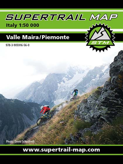 Supertrail Map - Valle Maira / Piemonte